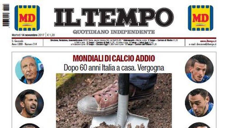 Обложка Il Tempo. Фото Il Tempo