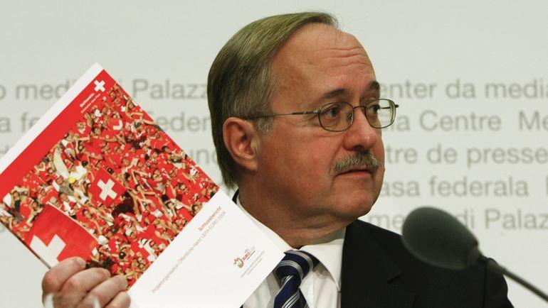 Глава комиссии МОК Самуэль ШМИД. Фото AFP