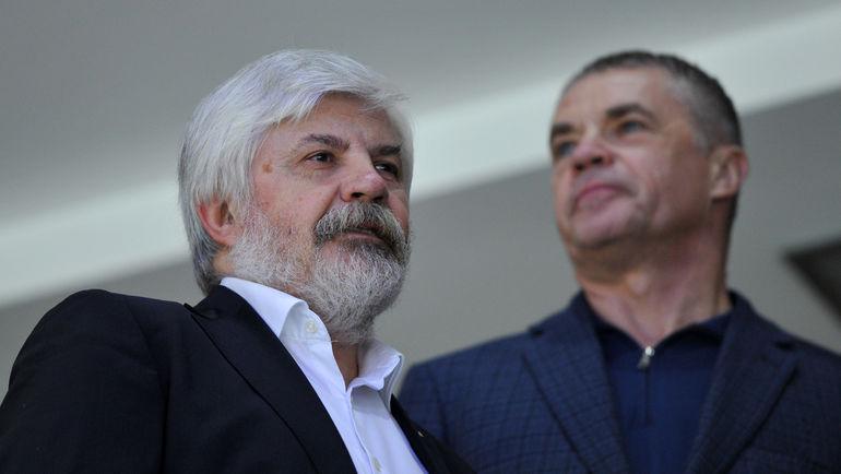 """Геннадий ВЕЛИЧКИН (слева). Фото Александр ФЕДОРОВ, """"СЭ"""""""