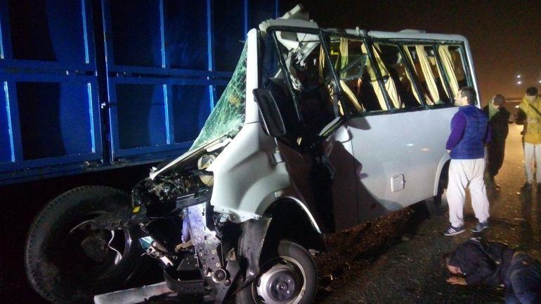 5 человек погибли вДТП с«Газелью» иКамАЗом вРостовской области