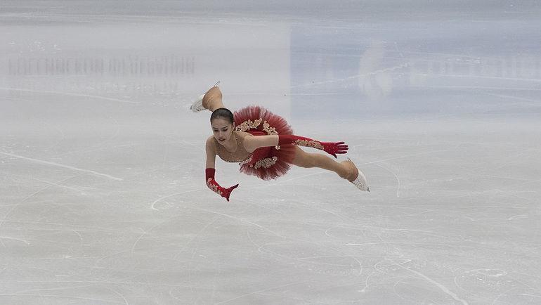 Фигуристка Алина Загитова одолела этапе Гран-при вГренобле