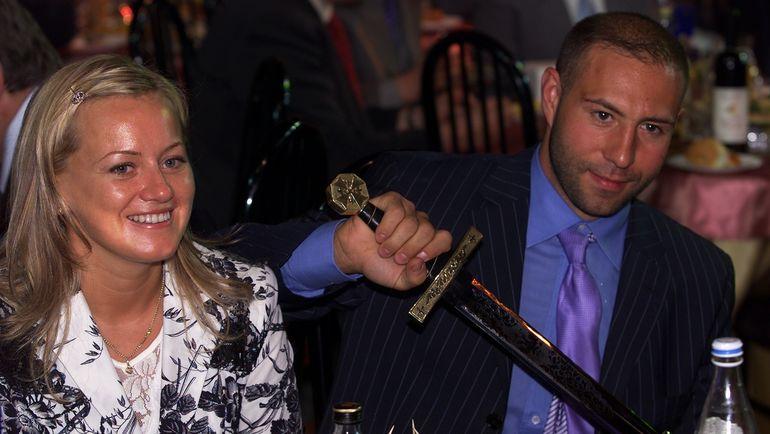 Максим СУШИНСКИЙ с женой. Фото Алексей ИВАНОВ