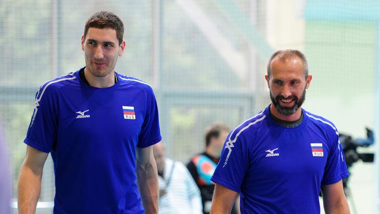 Максим МИХАЙЛОВ (слева) и Сергей ТЕТЮХИН. Фото Никита УСПЕНСКИЙ