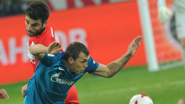 Джикия продлил договор со«Спартаком» до 2022г