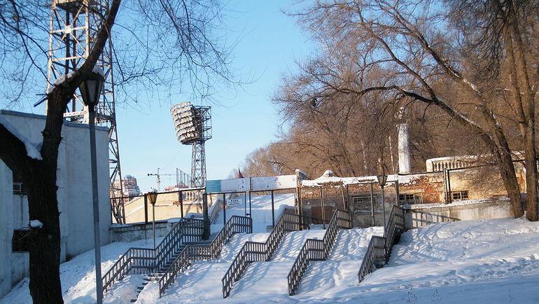 Современный вид лестницы с восточной трибуны. Фото wikipedia.org