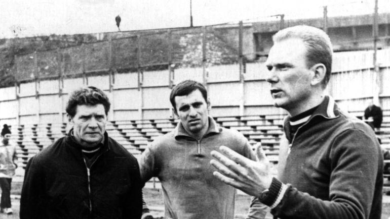 1972 год. Валерий ЛОБАНОВСКИЙ (справа). Фото Федор АЛЕКСЕЕВ