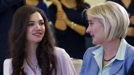 Евгения Медведева. И ее мама