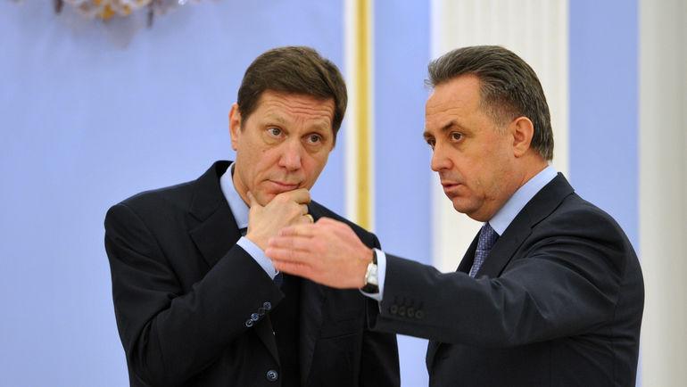 "Виталий МУТКО (справа) и Александр ЖУКОВ. Фото Александр ФЕДОРОВ, ""СЭ"""