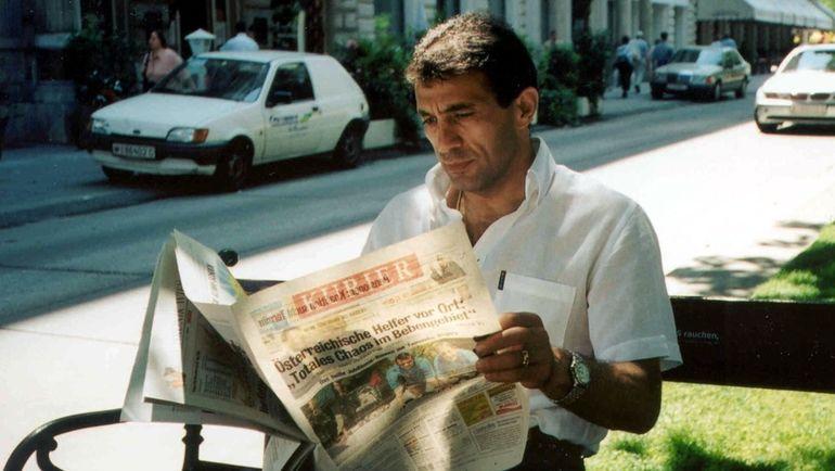 Рашид РАХИМОВ в Австрии в 2003 году. Фото Борис ТОСУНЯН