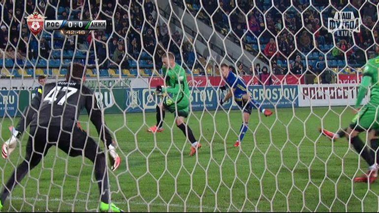 Футболисты «Анжи» организовали наматче вРостове акцию поддержки Сулеймана Керимова