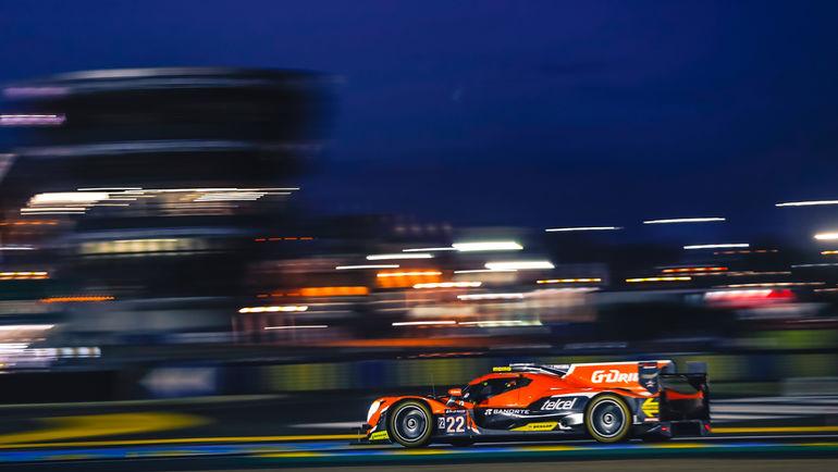 """Команда G-Drive Racing на """"24 часа Ле-Мана""""."""