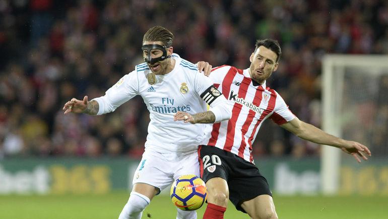 Мадридский «Реал» навыезде сыграл вничью с«Атлетиком» в14-м туре Примеры