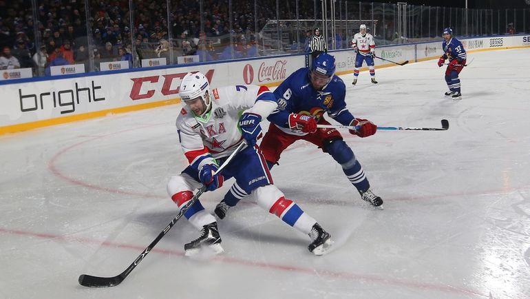 """Суббота. Хельсинки. """"Йокерит"""" - СКА - 3:4. Питерские хоккеисты выиграли в зимней классике. Фото photo.khl.ru"""