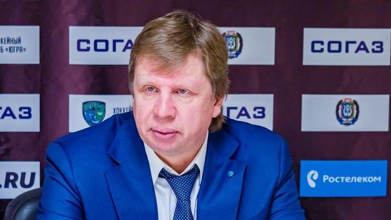 "Анатолий ЕМЕЛИН. Фото ХК ""Югра"""