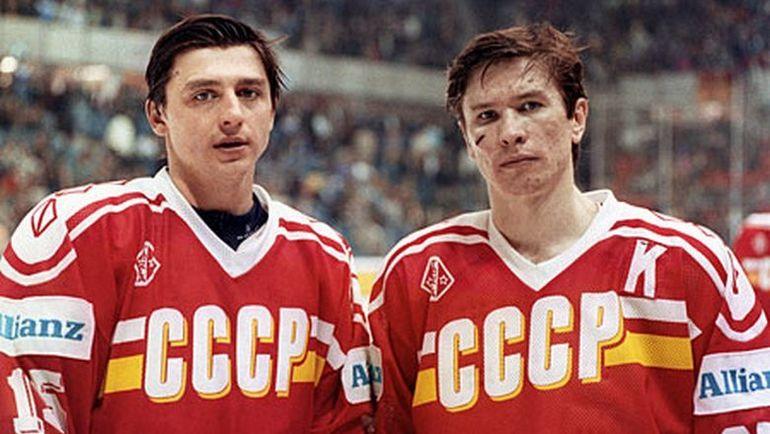Андрей ХОМУТОВ (слева) и Вячеслав БЫКОВ. Фото swissinfo.ch
