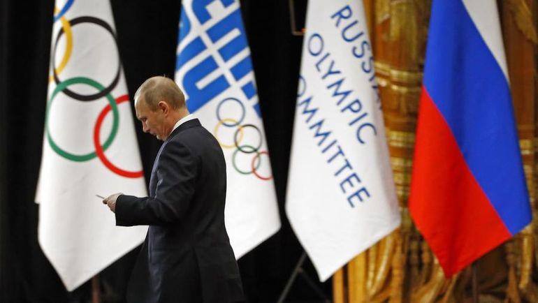 4 февраля 2014 года. Сочи. Владимир ПУТИН перед выступлением на заседании 126-й сессии МОК. Фото REUTERS
