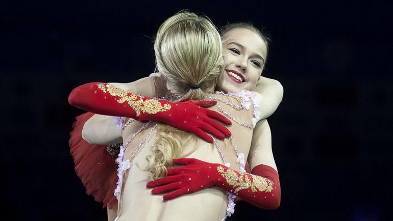 Алина ЗАГИТОВА (справа) и Мария СОТСКОВА. Фото Ксения НУРТДИНОВА