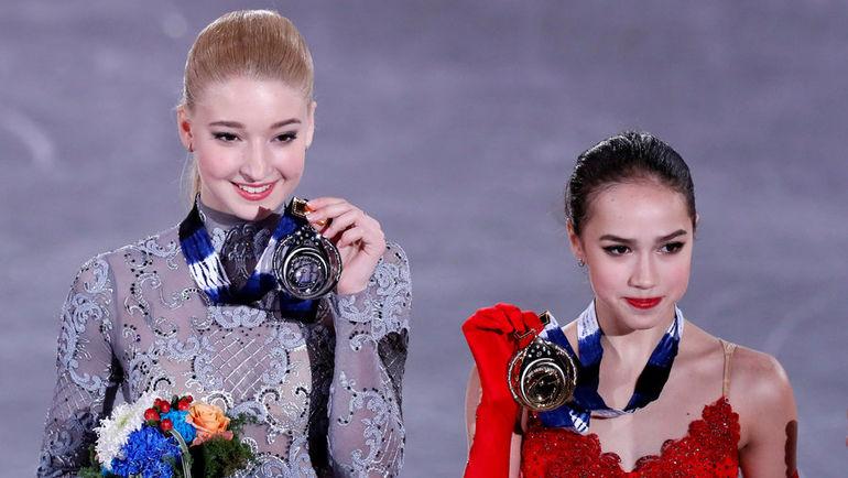 Сегодня. Нагоя. Мария СОТСКОВА и Алина ЗАГИТОВА. Фото REUTERS