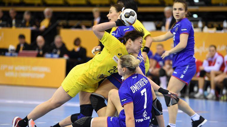 Женская сборная Российской Федерации вышла вчетвертьфиналЧМ погандболу