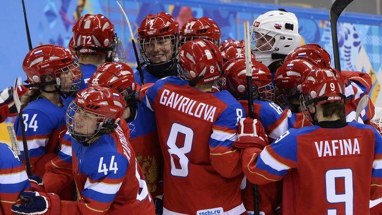 Шесть игроков женской сборной России из состава на Олимпиаду-2014 дисквалифицированы из-за подозрений в допинговых махинациях. Фото AFP