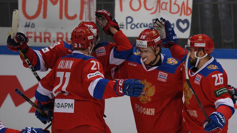 Россия победила Швецию на Кубке Первого канала (Видео)