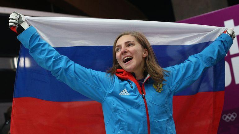 Пожизненно отстраненная отОИ скелетонистка Никитина выиграла золотоЧЕ