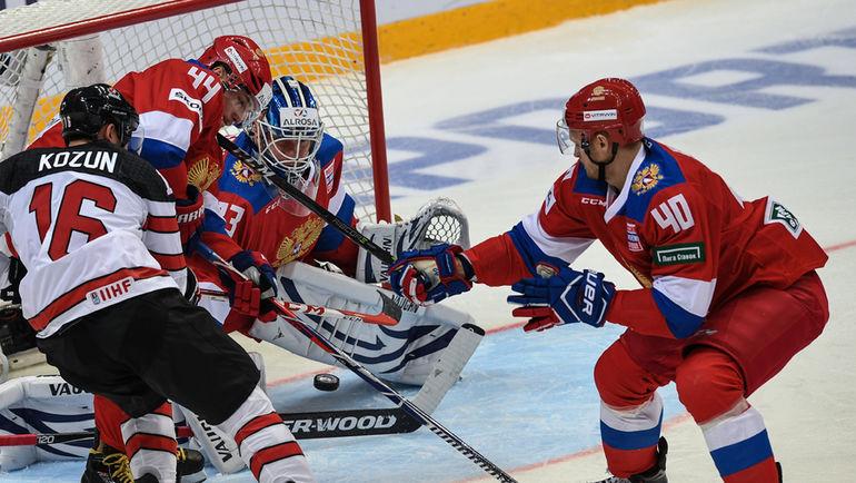 Россия победила Канаду на Кубке Первого канала (Видео)