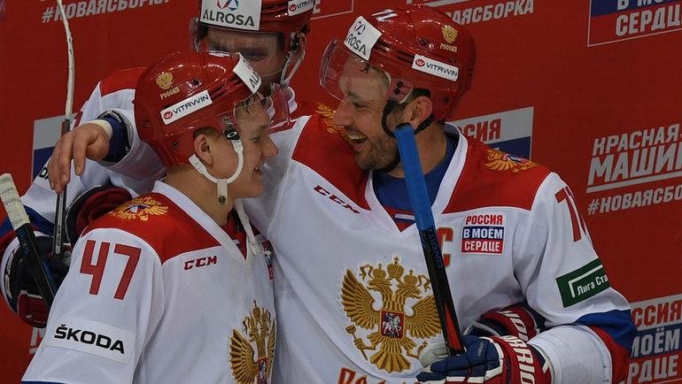"""Кирилл КАПРИЗОВ (слева) и Илья КОВАЛЬЧУК. Фото Александр ФЕДОРОВ, """"СЭ"""""""