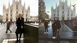 Клишина и Ребров в Милане, Ефимова и Кокорин - на свадьбе. Инстаграм за неделю