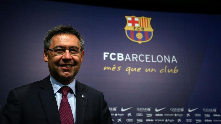 """Президент """"Барселоны"""" Хосеп Мария БАРТОМЕУ. Фото REUTERS"""