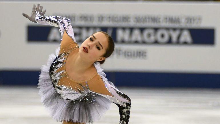 В отсутствие Евгении Медведевой главной фавориткой чемпионата  России в одиночном катании становится Алина ЗАГИТОВА. Фото AFP