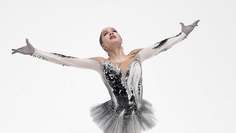 Алина Загитова стала чемпионкой РФ пофигурному катанию