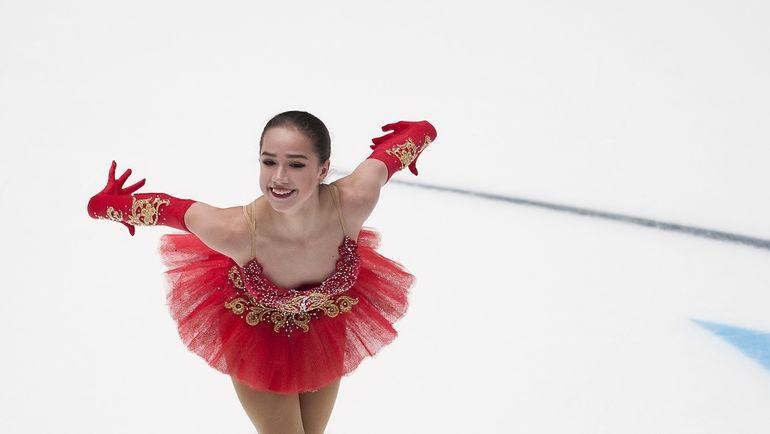 Алина ЗАГИТОВА. Фото Чемпионат России в женском одиночном катании завершился без сюрпризов.