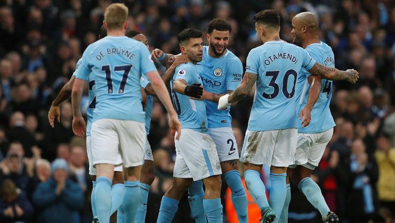 """""""Манчестер Сити"""" к середине сезона имеет серьезный отрыв от конкурентов. Фото REUTERS"""