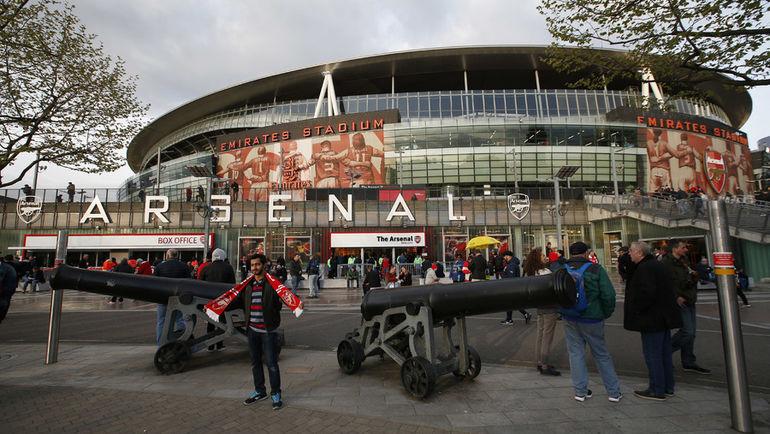 """Стадион """"Арсенала"""". Фото REUTERS"""