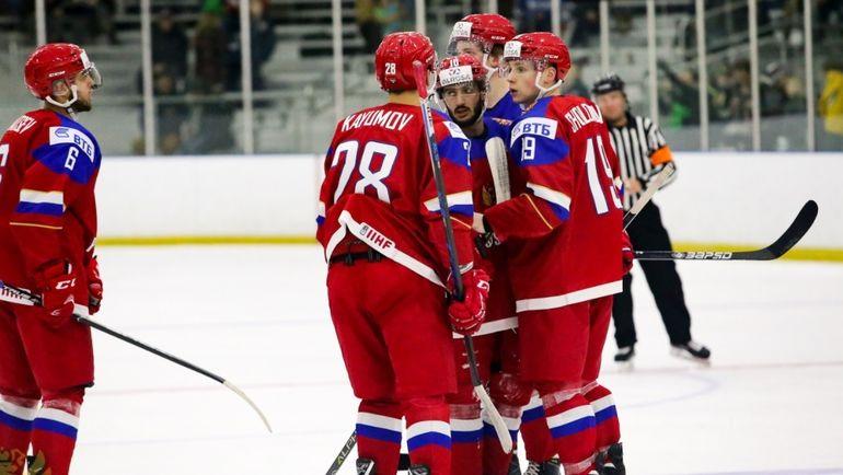 Молодежная сборная Российской Федерации  разгромила Швейцарию 5:2 наЧМ похоккею