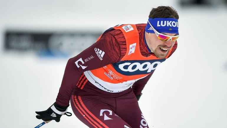 Сергей УСТЮГОВ в финальном спринте. Фото AFP