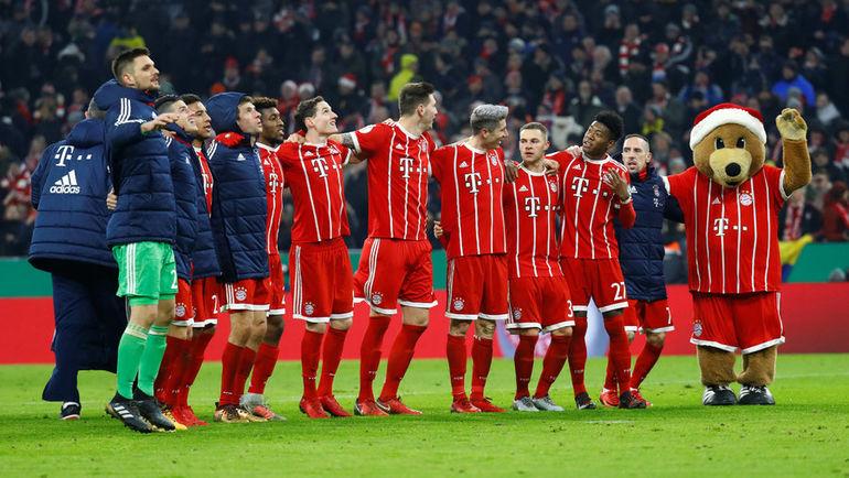 """После 17-ти туров """"Бавария"""" опережает ближайшего конкурента на 11 очков. Фото REUTERS"""