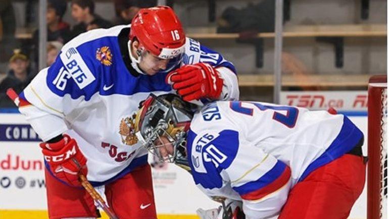 Сборная РФ проиграла шведам намолодёжном чемпионате мира похоккею