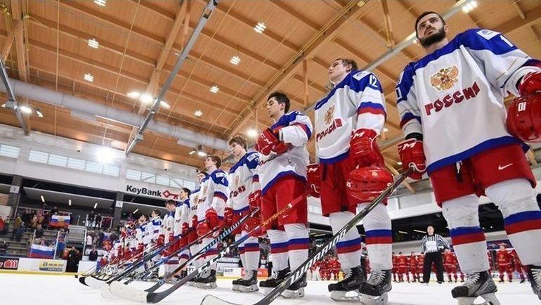 В четвертьфинале молодежного чемпионата мира сборная России сыграет против США. Фото 2018.worldjunior.hockey