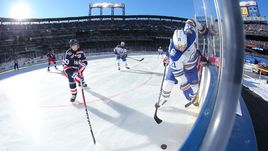 Мороз и солнце - хоккей чудесный. Яркие кадры