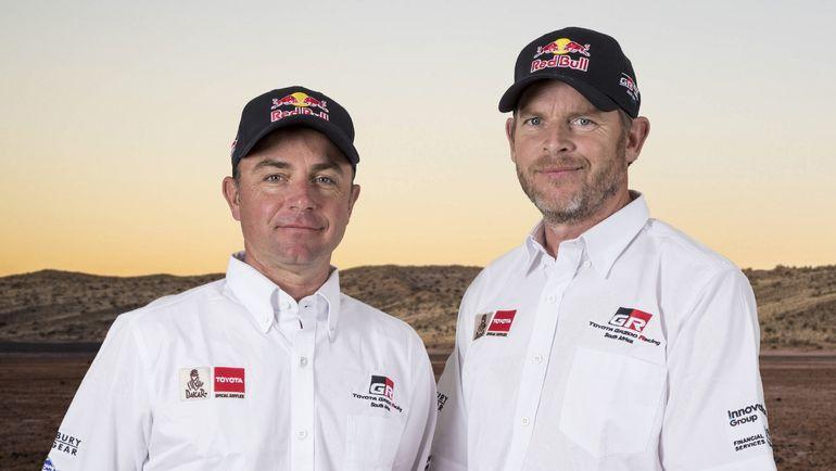 Экипаж #304 Жиниэль де Вильерс и Дирк фон Зитцевитц (Toyota Gazoo Racing).