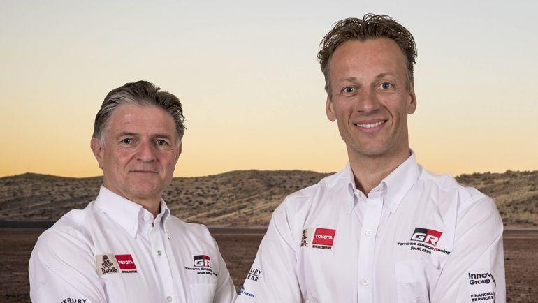 Экипаж #309 Бернард тен Бринке и Мишель Перен (Toyota Gazoo Racing).