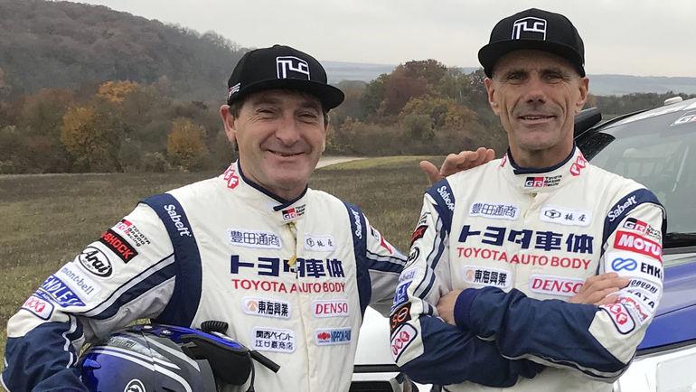 Экипаж #328 Жан-Пьер Гарсен и Кристиан Лавиэль (Toyota Autobody).