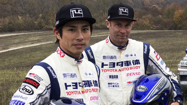 Экипаж #337 Акира Миура и Лорен Лихтлойтер (Toyota Autobody).