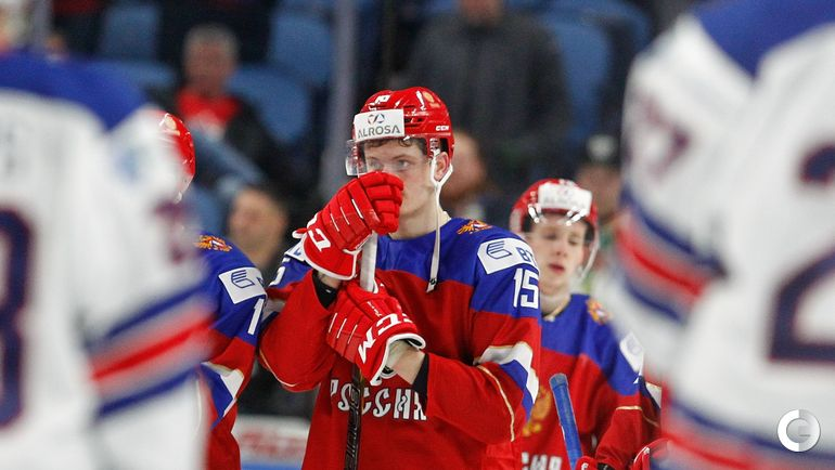 Сегодня. Баффало. США U20 - Россия U20 - 4:2. Анатолий ЕЛИЗАРОВ.