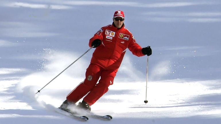 Михаэль ШУМАХЕР на горнолыжном склоне. Фото REUTERS