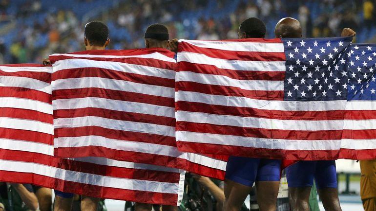 Спортсмены из США. Фото REUTERS