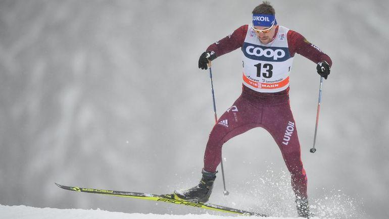 """Сергей УСТЮГОВ на """"Тур де Ски"""". Фото AFP"""