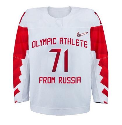 Утверждена форма сборной России по хоккею на Олимпиаду-2018